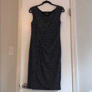 Black/ White work dress